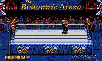 Imagen de la descarga de WWF European Rampage Tour