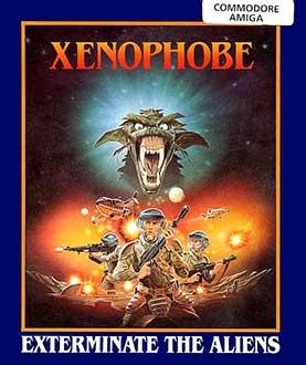 Portada de la descarga de Xenophobe