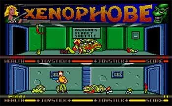 Imagen de la descarga de Xenophobe