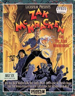 Portada de la descarga de Zak McKracken and the Alien Mindbenders
