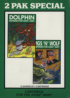 Juego online 2 Pak Special: Dolphin & Pigs 'N Wolf (2600)