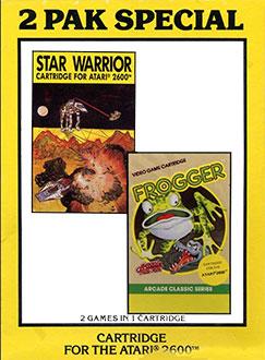 Juego online 2 Pak Special: Star Warrior & Frogger (Atari 2600)