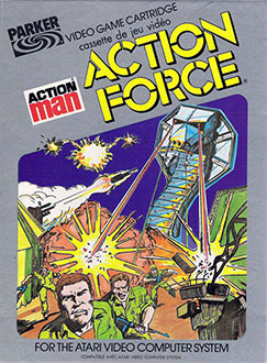 Juego online Action Man: Action Force (Atari 2600)