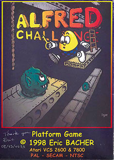 Juego online Alfred Challenge (Atari 2600)