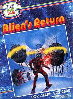 Juego online Alien's Return (Atari 2600)