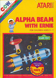 Juego online Alpha Beam With Ernie (Atari 2600)