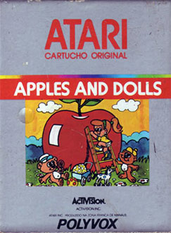 Juego online Apples and Dolls (Atari 2600)