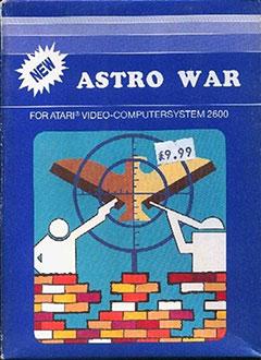 Juego online Astrowar (Atari 2600)