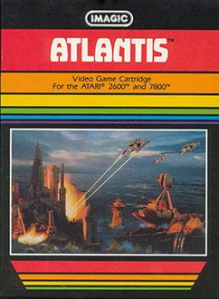 Juego online Atlantis (Atari 2600)