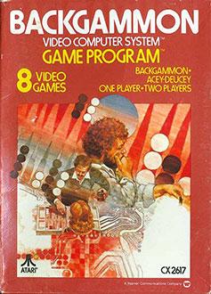 Juego online Backgammon (Atari 2600)