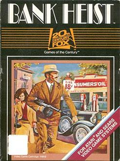 Juego online Bank Heist (Atari 2600)