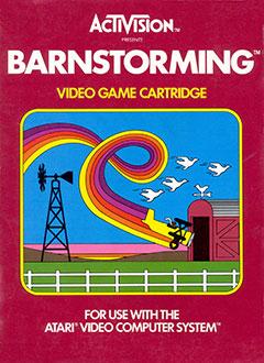 Juego online Barnstorming (Atari 2600)