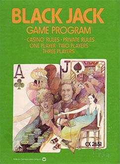 Juego online Blackjack (Atari 2600)