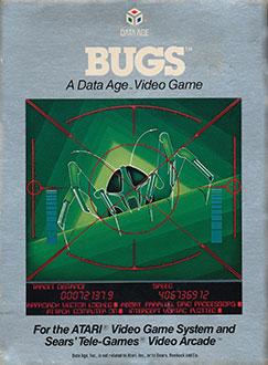 Juego online Bugs (Atari 2600)