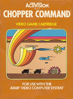 Juego online Chopper Command (Atari 2600)