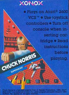 Juego online Chuck Norris Superkicks (Atari 2600)