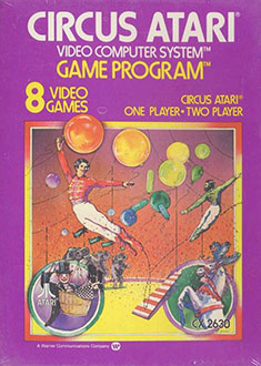 Juego online Circus Atari (Atari 2600)