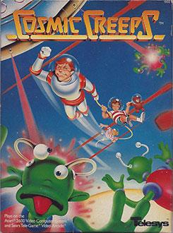 Juego online Cosmic Creeps (Atari 2600)