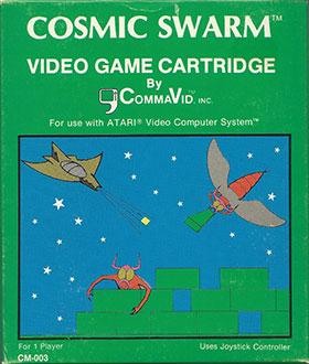 Juego online Cosmic Swarm (Atari 2600)