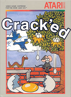 Juego online Crack'ed (Atari 2600)