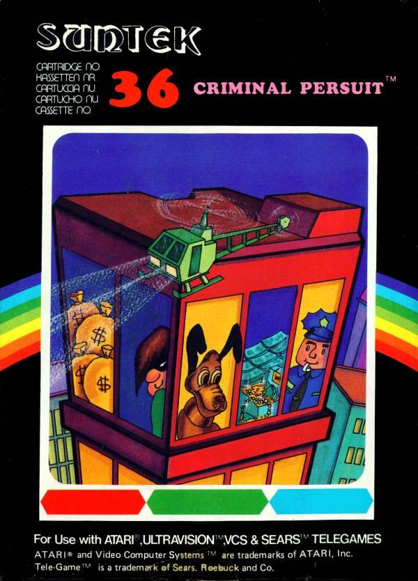 Juego online Criminal Pursuit (Atari 2600)