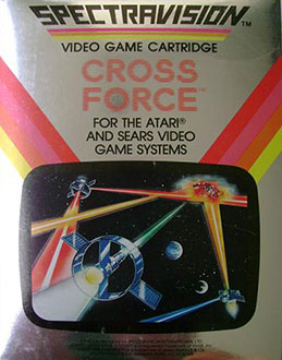 Juego online Cross Force (Atari 2600)