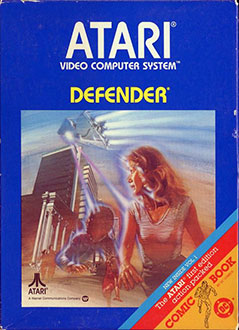 Juego online Defender (Atari 2600)