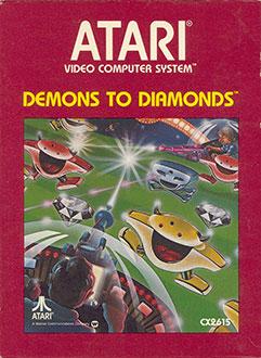 Juego online Demons to Diamonds (Atari 2600)