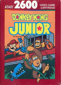 Portada de la descarga de Donkey Kong Junior