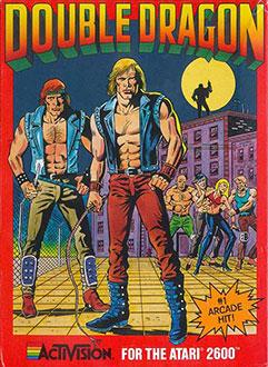 Carátula del juego Double Dragon (Atari 2600)
