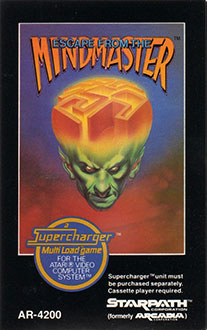 Juego online Escape from the Mindmaster (Atari 2600)