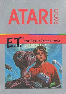 Juego online ET The Extra Terrestrial (Atari 2600)