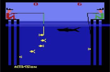 Fishing Derby Atari 2600 Onlinemania