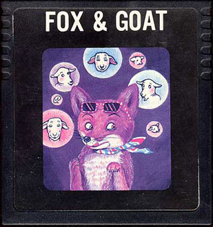 Juego online Fox & Goat (Atari 2600)