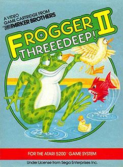 Juego online Frogger II: ThreeeDeep! (Atari 2600)