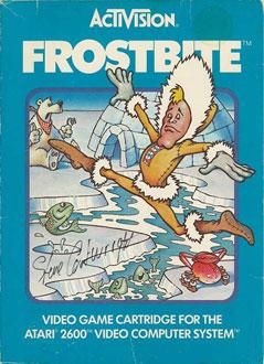 Carátula del juego Frostbite (Atari 2600)