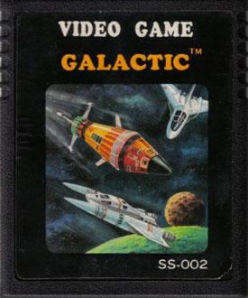 Juego online Galactic (Atari 2600)