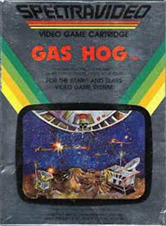Juego online Gas Hog (Atari 2600)