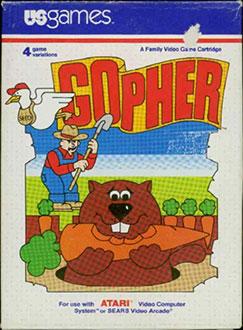 Juego online Gopher (Atari 2600)