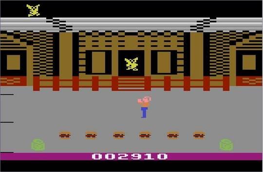 Pantallazo del juego online Gremlins (Atari 2600)