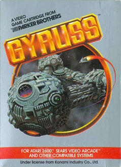 Juego online Gyruss (Atari 2600)