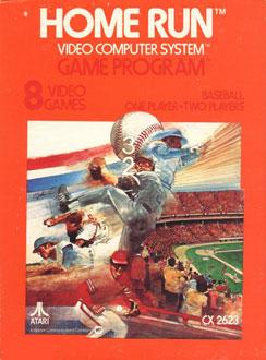 Juego online Home Run (Atari 2600)