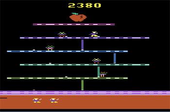 Pantallazo del juego online I Want My Mommy (Atari 2600)