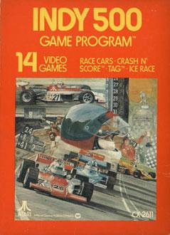 Juego online Indy 500 (Atari 2600)