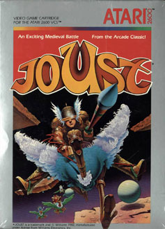 Carátula del juego Joust (Atari 2600)
