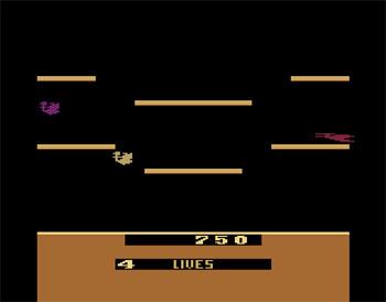 Pantallazo del juego online Joust (Atari 2600)