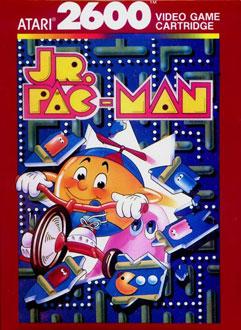Juego online Jr Pac-man (Atari 2600)