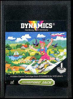 Juego online Jumping Jack (Atari 2600)