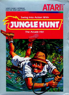 Juego online Jungle Hunt (Atari 2600)