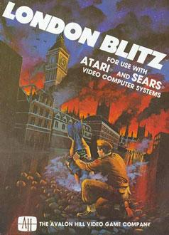 Juego online London Blitz (Atari 2600)